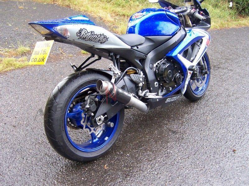 Gsxr 600 750 K6 K7 Suzuki Carbon Exhaust Moto Gp Big Bore A16 Martin Road 'n' Race Supplies Gallery: Suzuki Gsxr K6 Exhaust At Woreks.co
