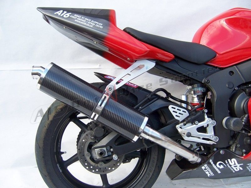 R6 03 05 a16 yamaha r6 carbon exhaust 1 a16 road 39 n for Best exhaust system for yamaha r6
