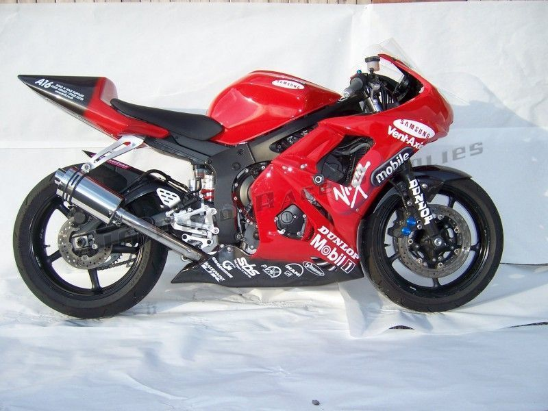 R6 03 05 a16 yamaha r6 stubby stainless exhaust 5 a16 for Best exhaust system for yamaha r6