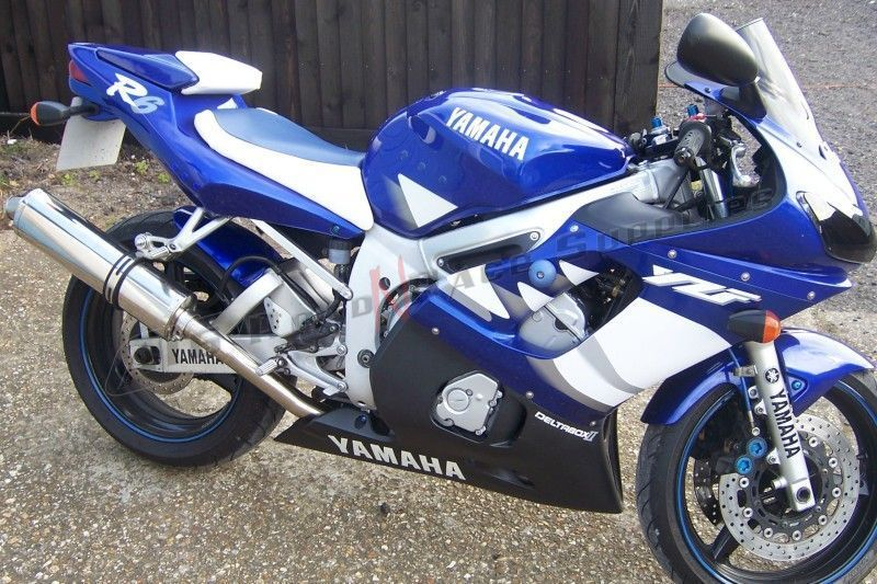 R6 98 02 yamaha r6 a16 stainless exhaust 4 a16 road 39 n for Best exhaust system for yamaha r6